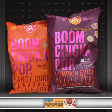 BOOMCHICKAPOP Candy Corn and Pumpkin Spice Kettle Corn
