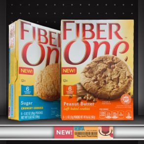 Fiber One Peanut Butter and Sugar Cookies