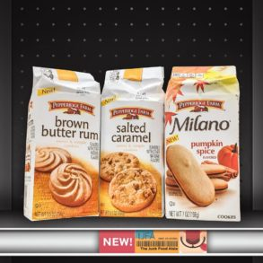 Pepperidge Farm Brown Butter Rum, Salted Caramel, and Milano Pumpkin Spice Cookies
