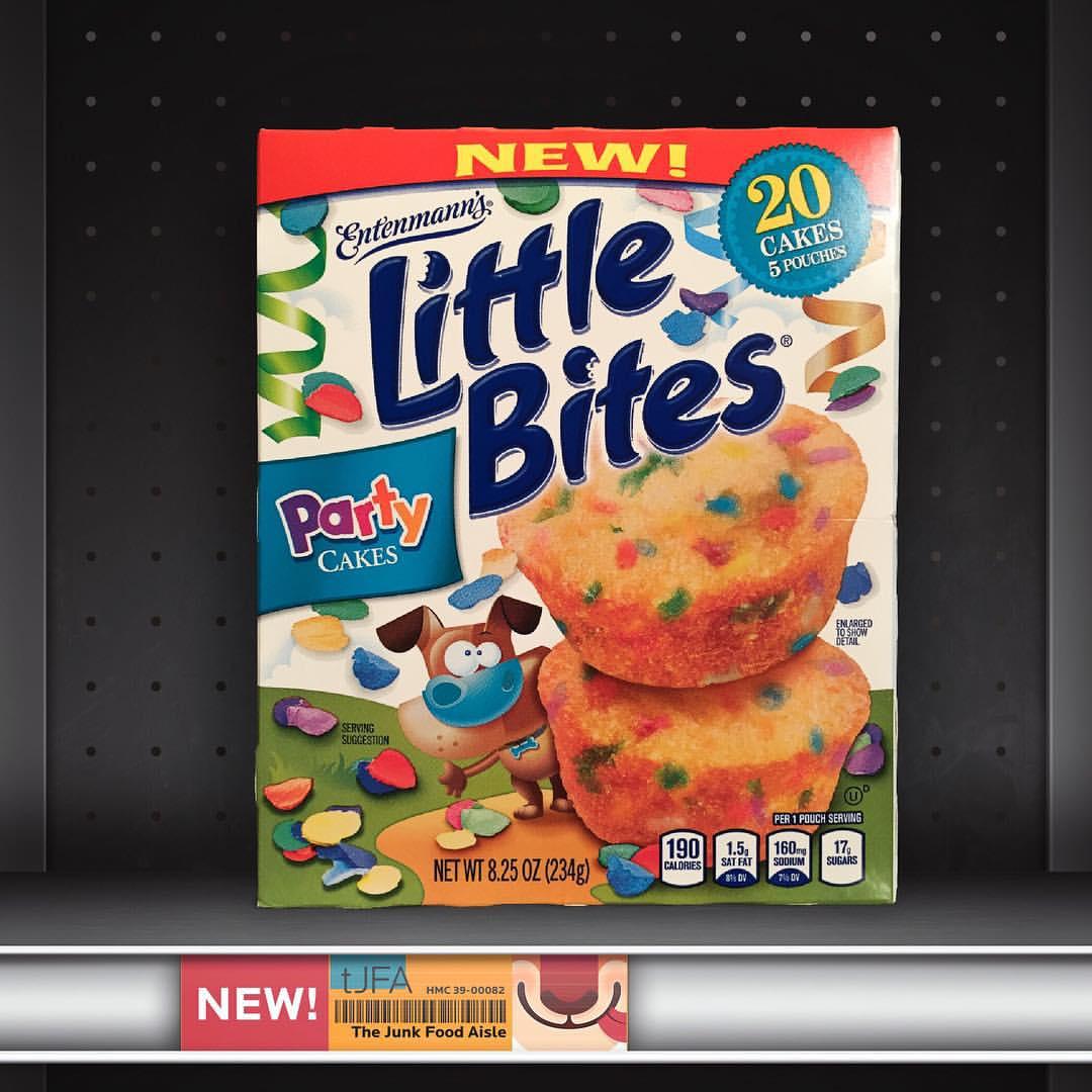 Entenmanns Little Bites Party Cakes