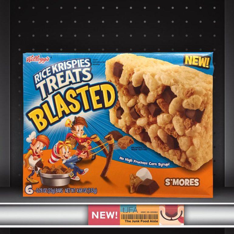 Kellogg's Rice Krispies Treats S'mores Blasted