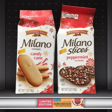 Pepperidge Farm Candy Cane Milano Cookies and Peppermint Milano Slices