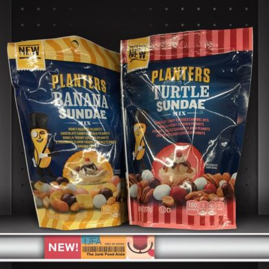 Planters Banana Sundae and Turtle Sundae Mix