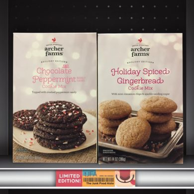 Archer Farms Chocolate Peppermint and Holiday Spiced Gingerbread Cookie Mix