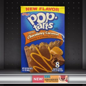 Kellogg's Frosted Chocolatey Caramel Pop-Tarts