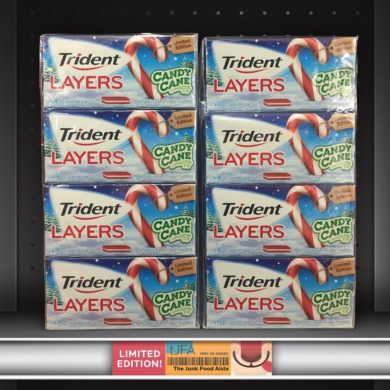 Trident Layers Candy Cane Gum