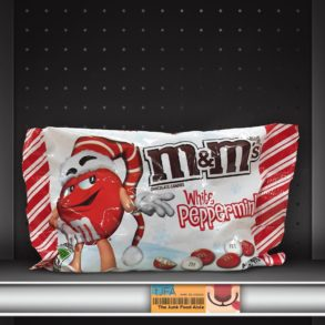 White Peppermint M&M's