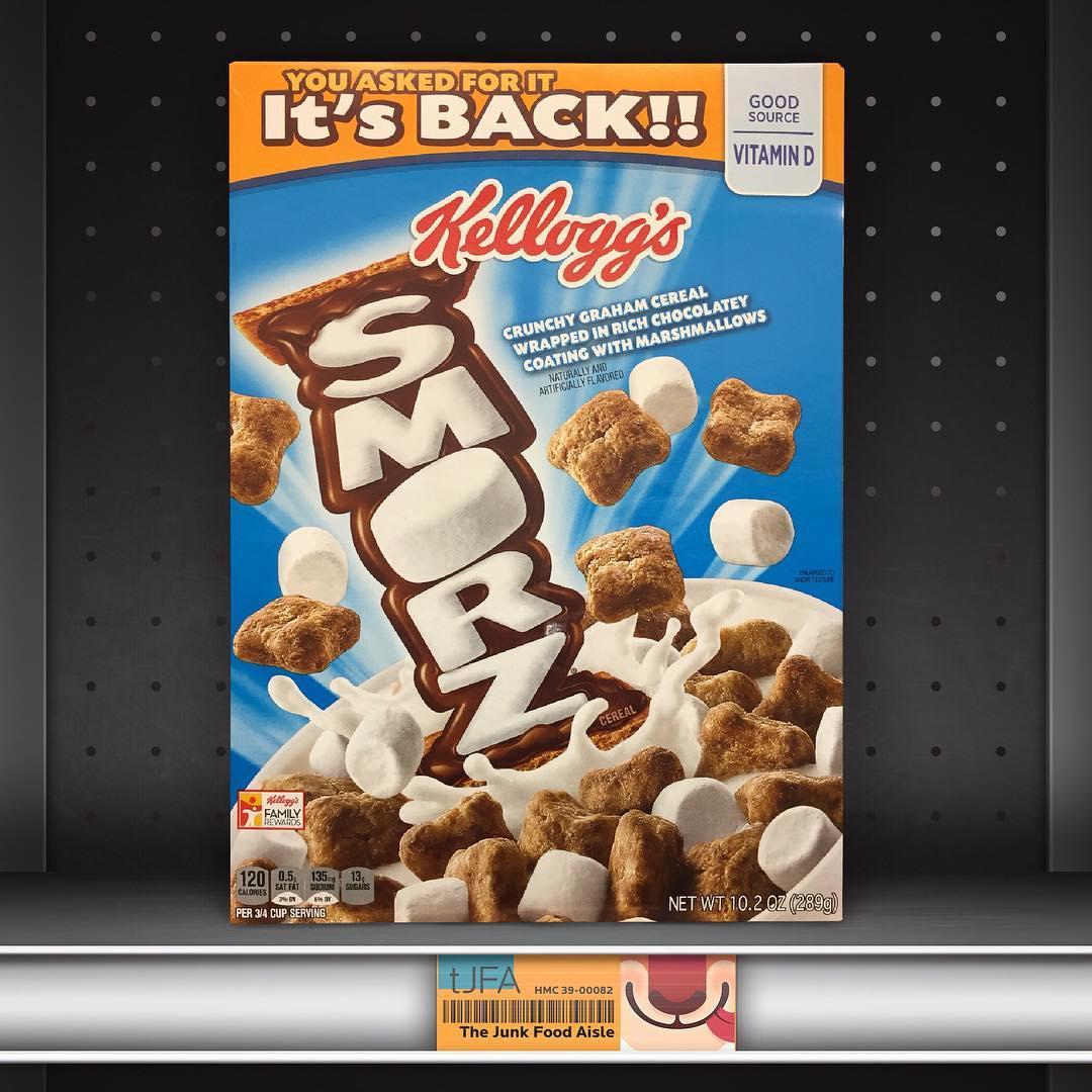 Kellogg's Smorz Cereal