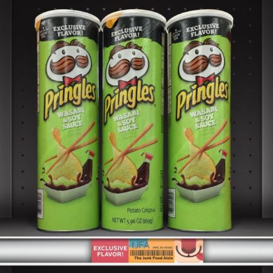 Wasabi Soy Sauce Pringles