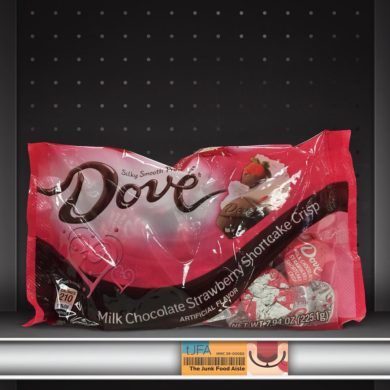 Dove Milk Chocolate Strawberry Shortcake Crisp