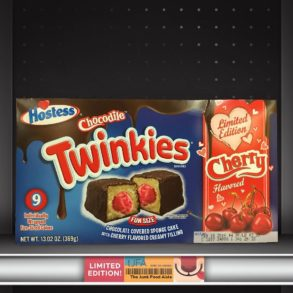 Hostess Cherry Flavored Chocodile Twinkies