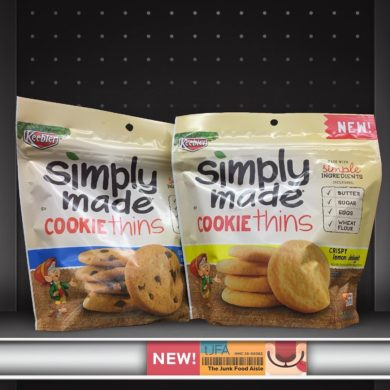 Keebler Simply Made Cookie Thins Crispy Chocolate Chip and Crispy Lemon Delight