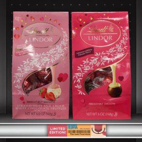 Lindt Lindor Strawberries & Cream and Milk & White Chocolate Truffles