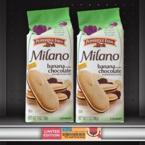 Pepperidge Farm Milano Banana Chocolate Cookies