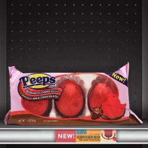 Strawberry Crème Dipped in Milk Chocolate Peeps