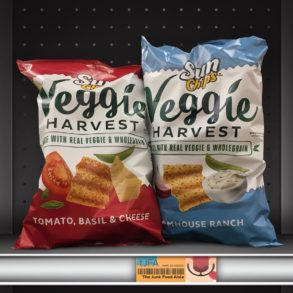 Sun Chips Veggie Harvest Tomato, Basil & Cheese and Farmhouse Ranch