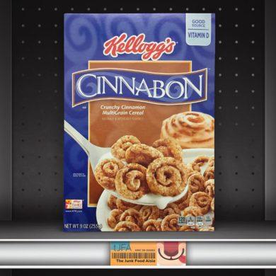 Kellogg's Cinnabon Cereal