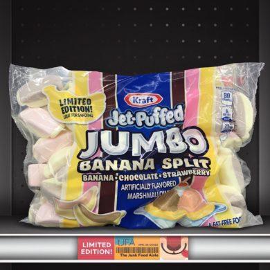 Kraft Jet-Puffed Jumbo Banana Split Marshmallows