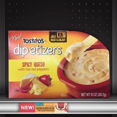 Tostitos Dipetizers Spicy Queso