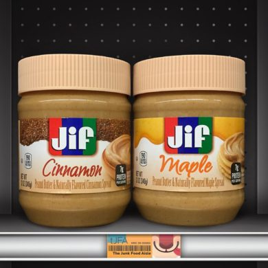 Jif Cinnamon and Maple Peanut Butter Spreads