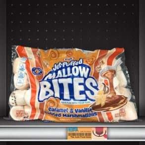 Kraft Jet-Puffed Mallow Bites Caramel & Vanilla Swirled Marshmallows