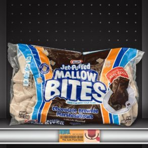 Kraft Jet-Puffed Mallow Bites Chocolate Brownie Marshmallows