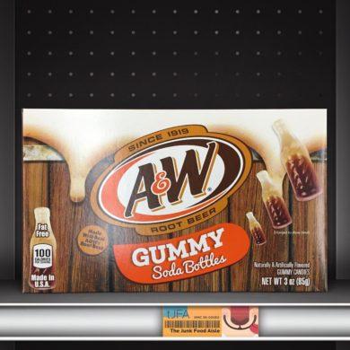 A&W Root Beer Gummy Soda Bottles