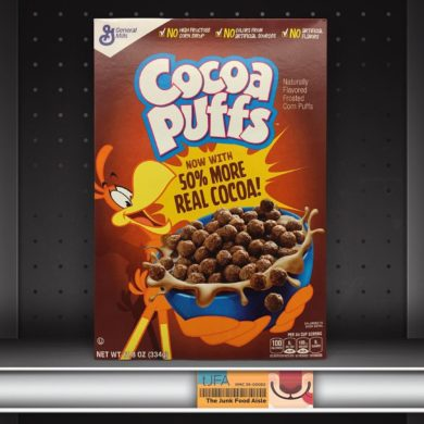 Cocoa Puffs with 50% More Real Cocoa!