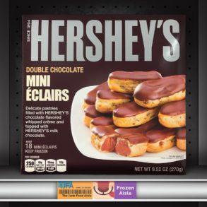 Hershey's Double Chocolate Mini Éclairs