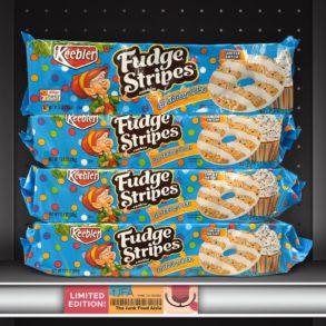 Keebler Birthday Cake Fudge Stripes Cookies