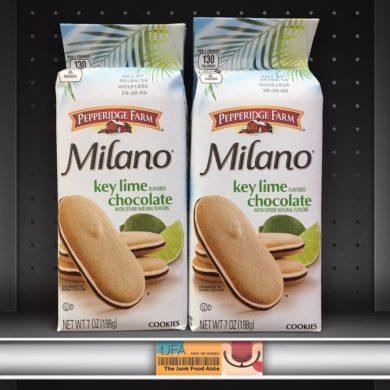 Pepperidge Farm Key Lime flavored Chocolate Milano Cookies