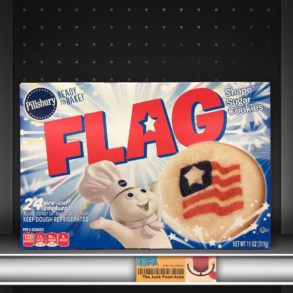 Pillsbury Flag Sugar Cookies