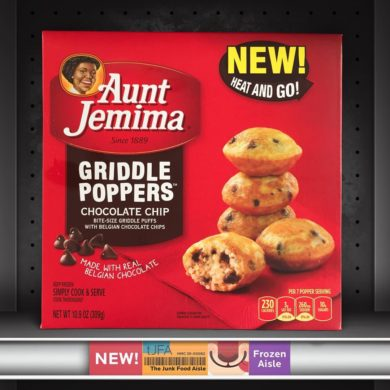 Aunt Jemima Chocolate Chip Griddle Poppers