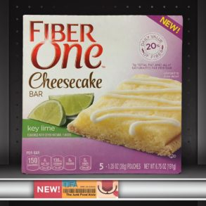 Fiber One Key Lime Cheesecake Bars