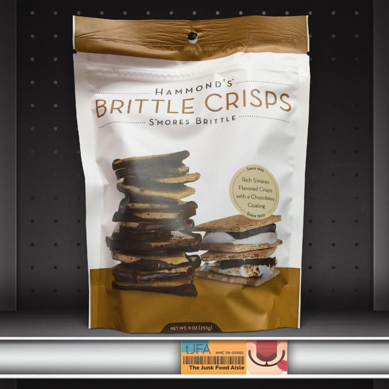 Hammond's Brittle Crisps S'mores Brittle