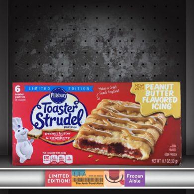 Peanut Butter & Strawberry Toaster Strudels