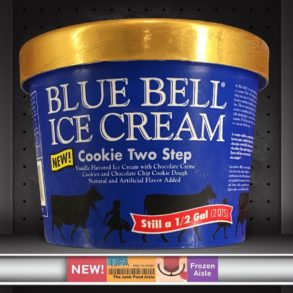 Blue Bell Cookie Two Step Ice Cream