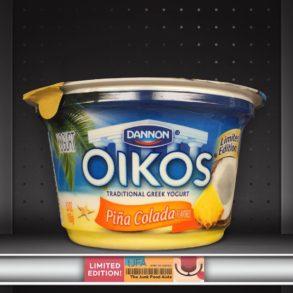 Dannon Oikos Piña Colada Greek Yogurt
