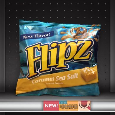 Flipz Caramel Sea Salt Covered Pretzels