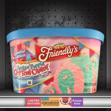 Friendly's Rockin' Poppin' Cotton Candy Ice Cream