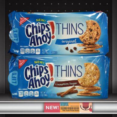 Original and Cinnamon Sugar Chips Ahoy! Thins