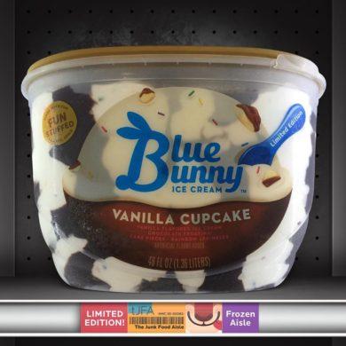 Vanilla Cupcake Blue Bunny Ice Cream