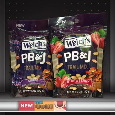 Welch's Grape and Strawberry PB&J Trail Mixes