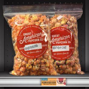 Great American Popcorn Co. Orange Dreamsicle & Birthday Cake Popcorn