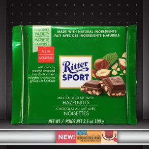 Ritter Sport Milk Chocolate with Hazelnuts