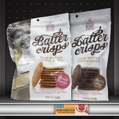 Sugar Bowl Bakery Batter Crisps: French Vanilla & Devil's Food
