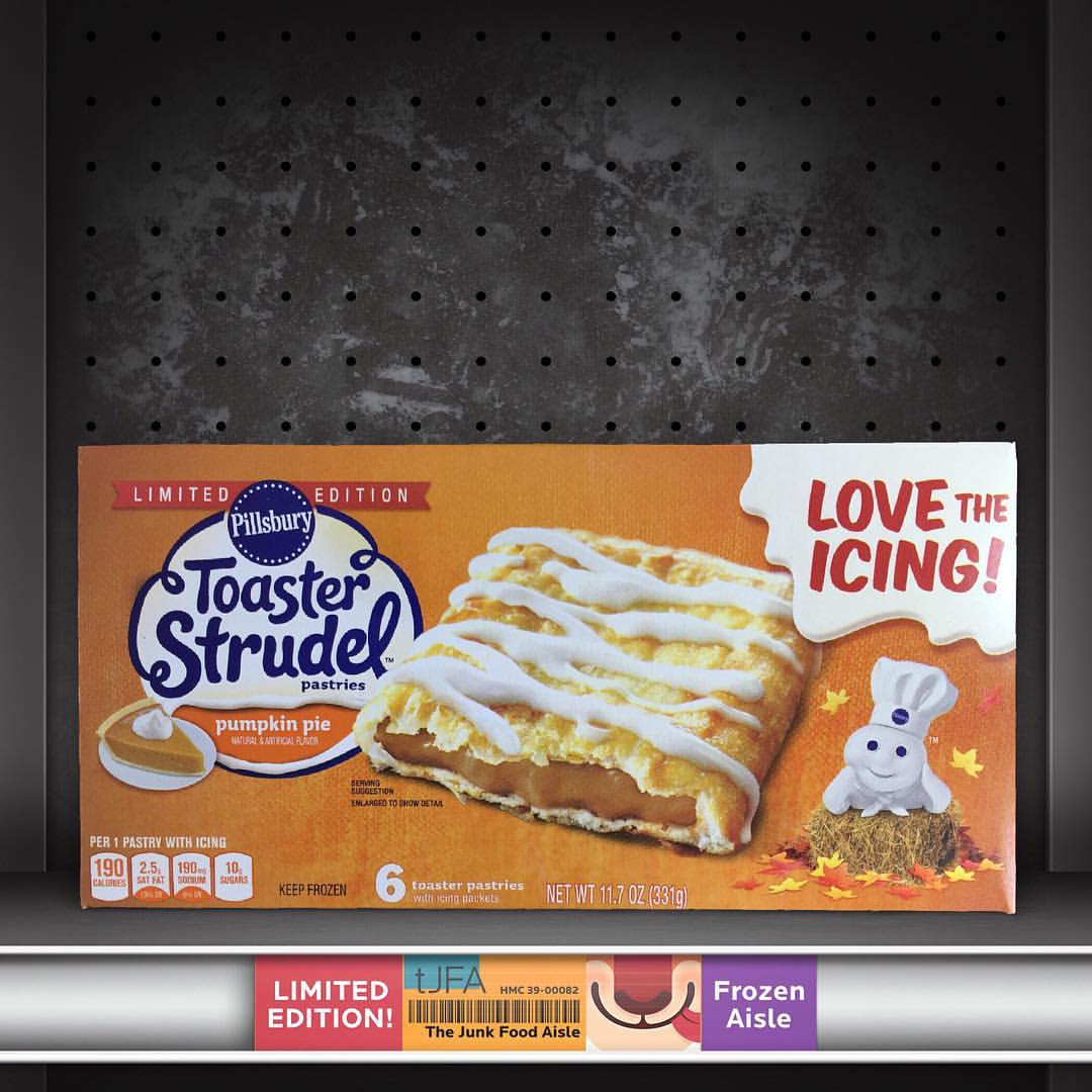 Pumpkin Pie Toaster Strudels The Junk Food Aisle