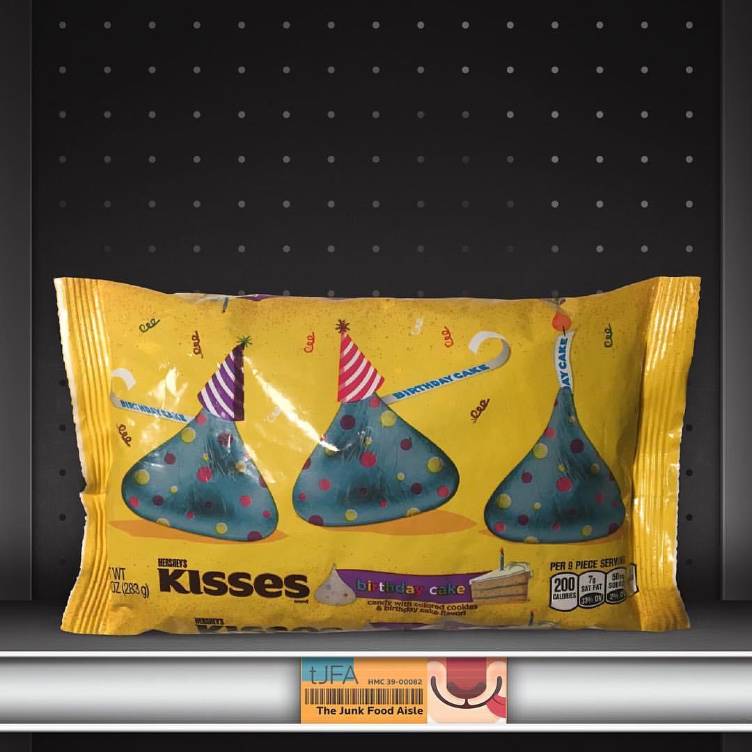 Birthday Cake Hersheys Kisses