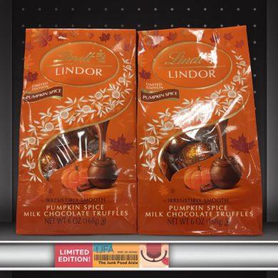 Lindt Lindor Pumpkin Spice Milk Chocolate Truffles