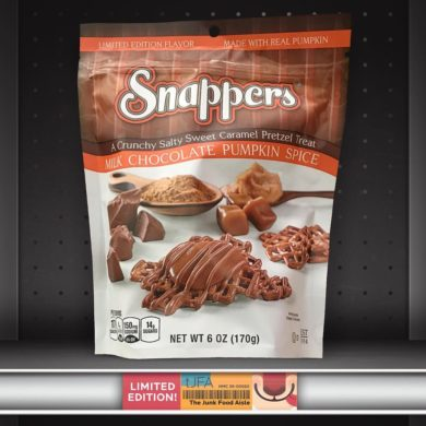 Milk Chocolate Pumpkin Spice Snappers